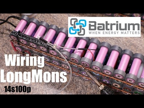 Batrium BMS ep2 Installing The LongMon Wiring and How I Tackled it!