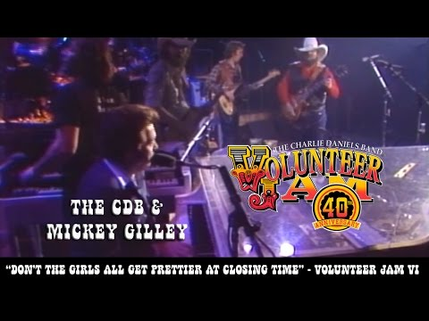 Don't The Girls All Get Prettier at Closing Time - The CDB & Mickey Gilley - Volunteer Jam VI