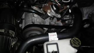 Time to replace the serpentine belt (99 Mustang)