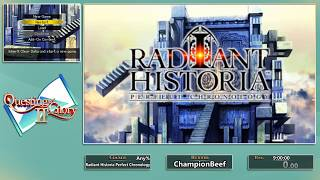 Questing for Glory 2: Radiant Historia Perfect Chronology Any% by ChampionBeef