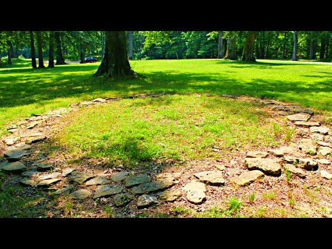 2000 Year Old Stone Circles in America - Fort Ancient, Ohio