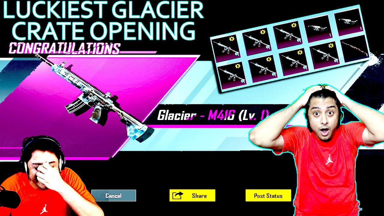 Download M4 GLACIER CRATE OPENING BGMI  DRACOGAMES