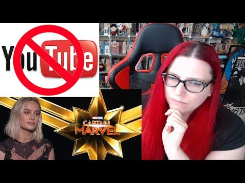 MEDIA ATTACKS YOU TUBERS OVER CAPTAIN MARVEL VIDEOS