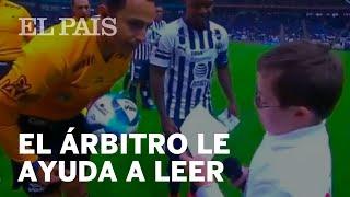 El EMOTIVO gesto de un ÁRBITRO con un NIÑO con SÍNDROME DE DOWN en la Liga mexicana