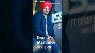 Dark Love 💖Status💖 | Sidhu Moosewala | Intense | Baljit Singh Deo | Latest Punjabi Songs 2018