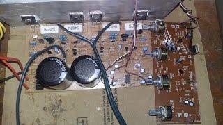 Hướng dẫn đấu mạch âm sắc v2 2 kênh cho mạch 180w dùng biến áp 35V đối xứng