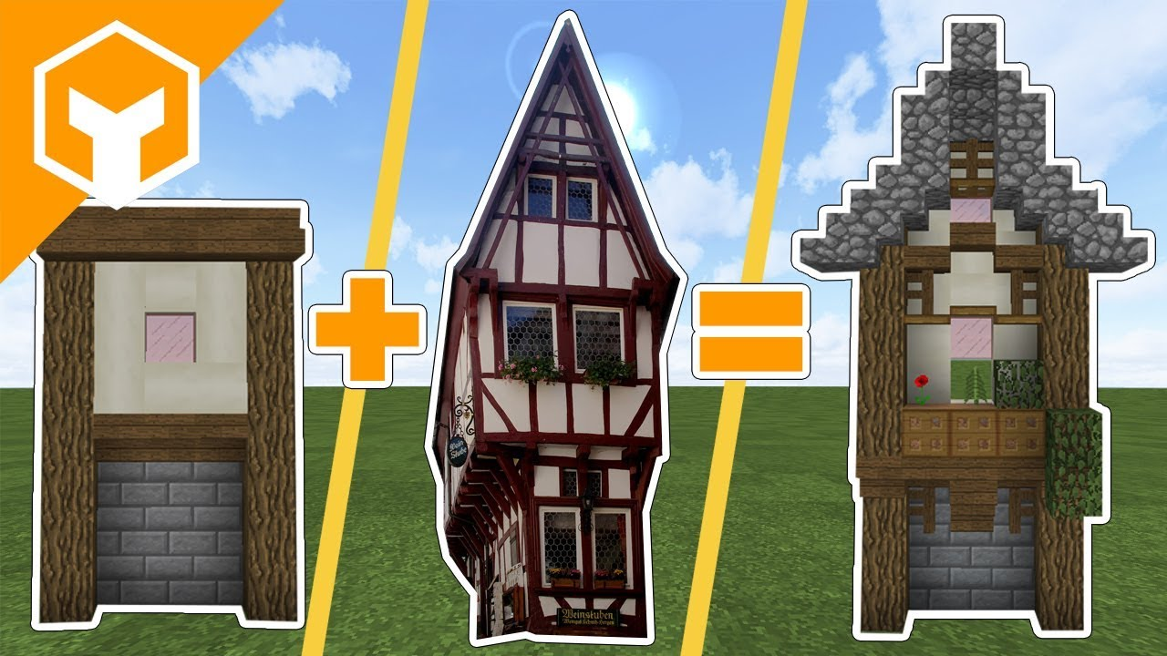 Medieval Tudor Style Wall Detail Guide in Minecraft