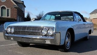 1962 Lincoln Continental Test Drive Classic Muscle Car For Sale In MI Vanguard Motor Sales