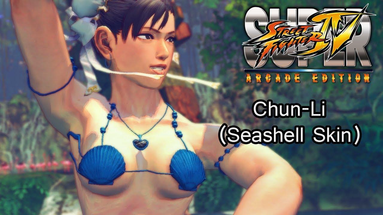 35f0dc0a548 Chun-Li Seashell Bikini Skin (Super Street Fighter IV: Arcade ...