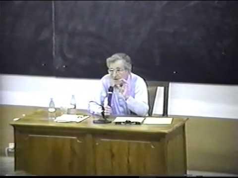 Noam Chomsky speaks about Cognitive Revolution - Part 4