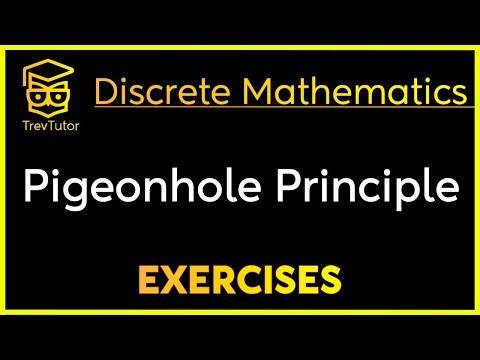 [Discrete Math 1] Pigeonhole Principle Examples
