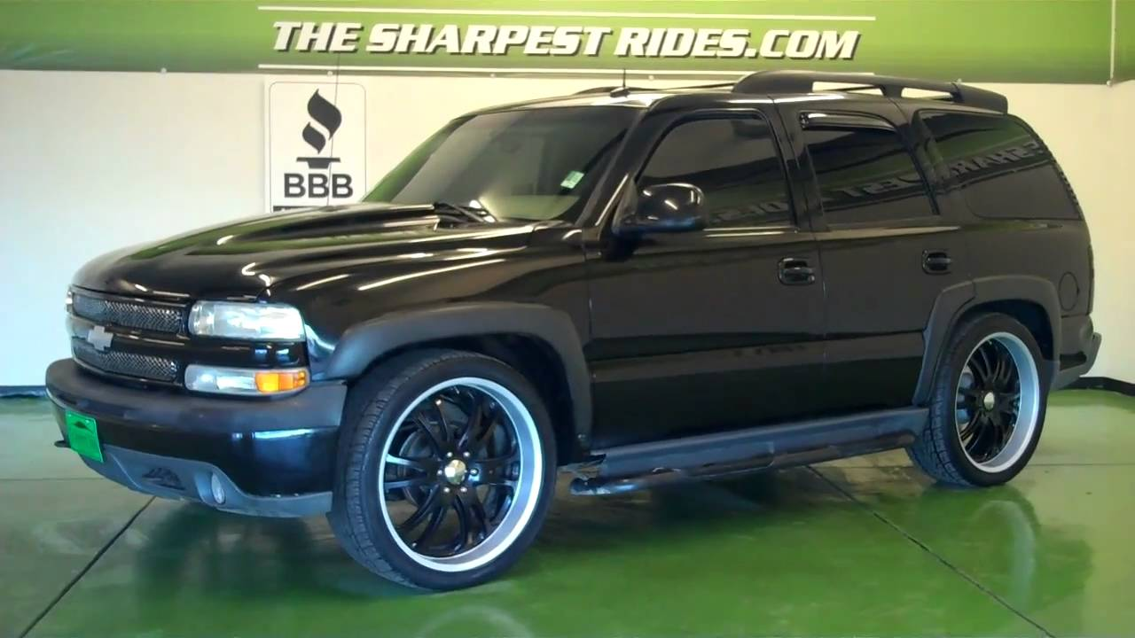 The Sharpest Rides >> The Sharpest Rides 2002 Chevy Tahoe S5633 - YouTube