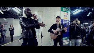 Maître GIMS - Concert surprise dans le métro Châtelet-Les...
