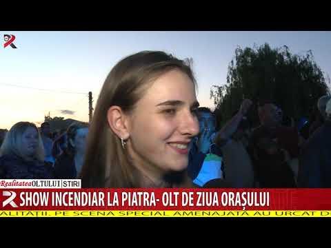 Show incendiar la Piatra- Olt de ziua orașului