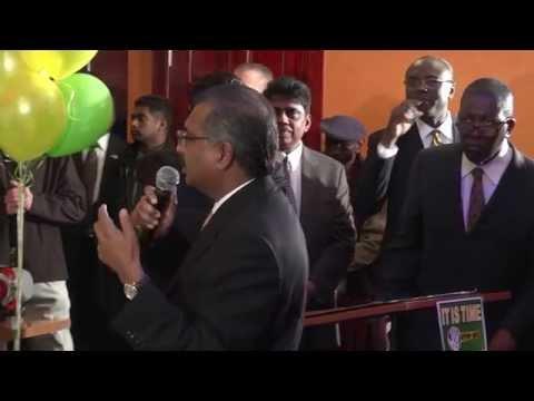 Guyana Elections New Interviews & Politics - massive support for APNU-AFC Coalition