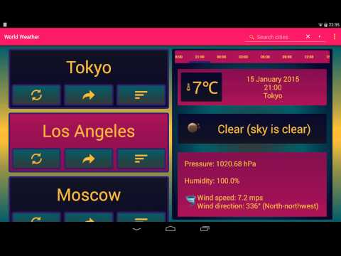 World Weather (Android app)