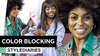 Color Blocking Outfits mit Abigail & Aminata | STYLEDIARIES – powered by OTTO