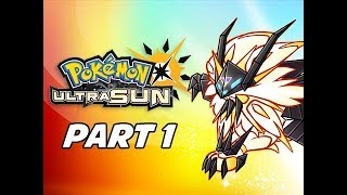 Pokémon Ultra Sun & Ultra Moon Gameplay Walkthrough Part 1 - Deja Vu (3DS Let