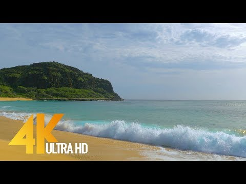Oahu Beaches in 4K (Ultra HD) - Nature Relax Video Short Preview - Part #2