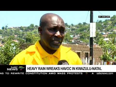 Heavy rains in KwaZulu-Natal claim 3 lives