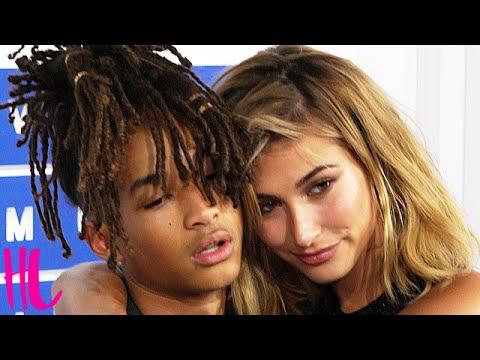 Jaden Smith & Hailey Baldwin PDA MTV VMAs 2016