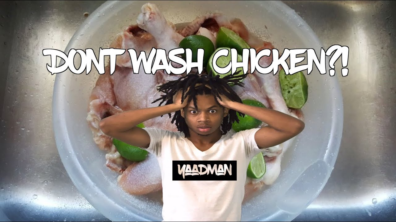 Should JAMAICANS stop washing their chicken like AMERICANS?!