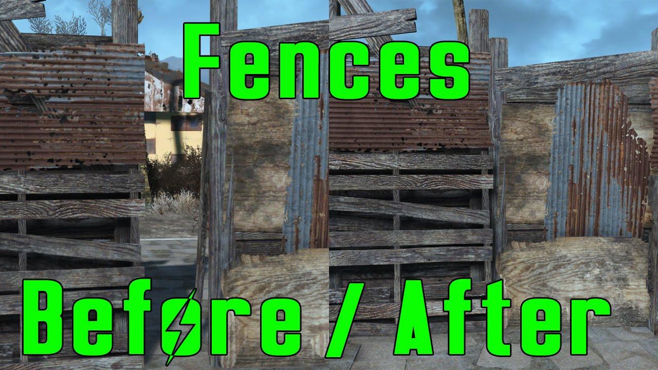 Fallout 4 Settlement Fences \u0026 Sanctuary Door Tips & Fallout 4 Settlement Fences \u0026 Sanctuary Door Tips - YouTube