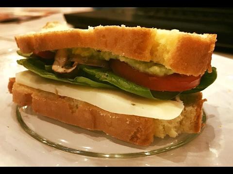 Healthier Gluten Free Low Carb Bread Recipe- Ketogenic Paleo ;  Celiac Diabetes Friendly