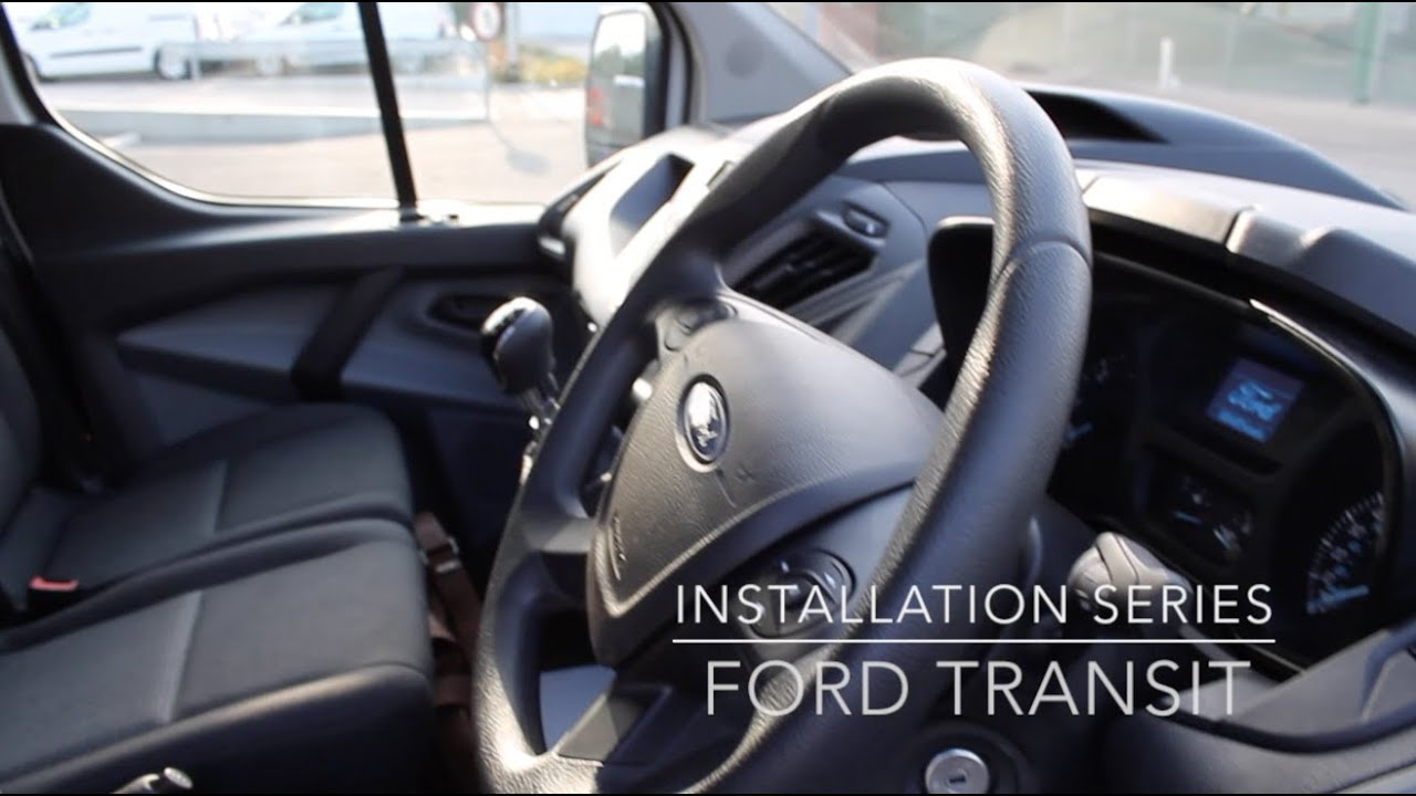 Box Trailer Wiring Diagram Remote Car Starter Installation Series: Ford Transit - Youtube