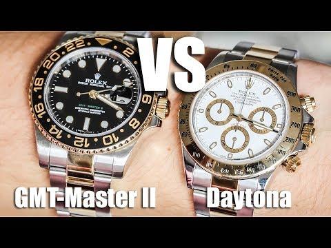 Rolex GMT-Master II vs Rolex Daytona