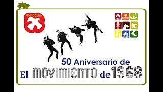 Coloquio 50 Aniversario de El movimiento de 1968. (3) thumbnail