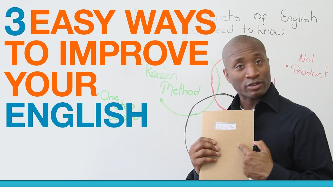 Learn English  Easy Ways To Get Better At Speaking English  Youtube
