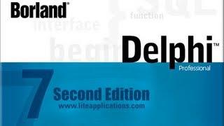 Видео уроки delphi, (Язык pascal) №10 Процедуры