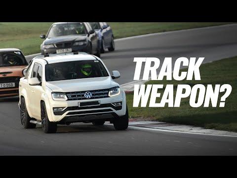 Taking a customers 400bhp V6 Amarok on Track!!