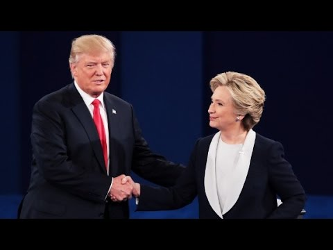 Debate begins with insults, ends with a handshake