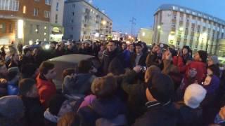 Открытие штаба А. Навального в Томске, ч.5 (Навальный и мы на улице, окончание)