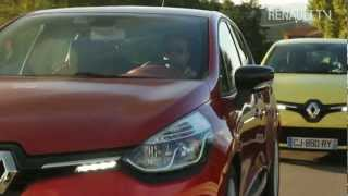 New Clio test drive by Renault TV