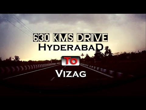 Hyderabad to Vizag | Fuzz Rides | Drive | Touring | Time Lapse | Skoda Octavia | SJ5000+ | India