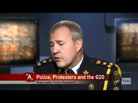Bill Blair: Police, Protesters and the G20