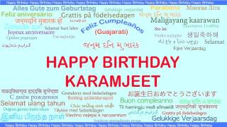 Karamjeet   Languages Idiomas - Happy Birthday