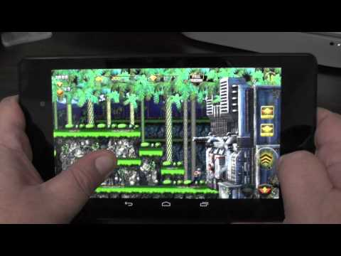 Contra: Evolution for Android first look