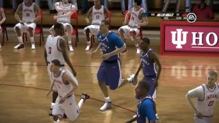 NCAA 08 March Madness PS3 #8 Kentucky Wildcats vs #9 Indiana Hoosiers video game