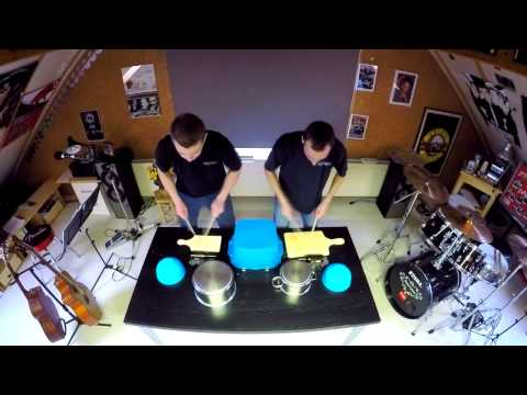 Percussion kitchen duo