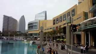 View of The Dubai Mall, Burj Khalifa, Burj Park, Souk Al Bahar, Boulevard Plaza Tower