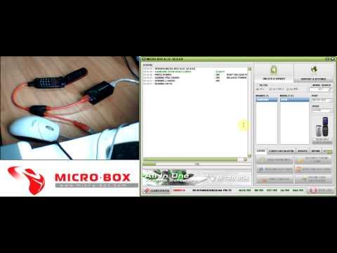 Samsung C270 Read Codes with Micro-Box - www.micro-box.com