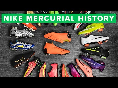 NIKE MERCURIAL - the history of all Nike Mercurial Vapor & Superfly football boots
