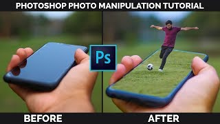 Adobe Photoshop Tutorial in Hindi | 3D Pop Out Effect | Inside Motion Pictures | 2018