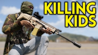 ARMA 3 Battle Royale - KILLING KIDS