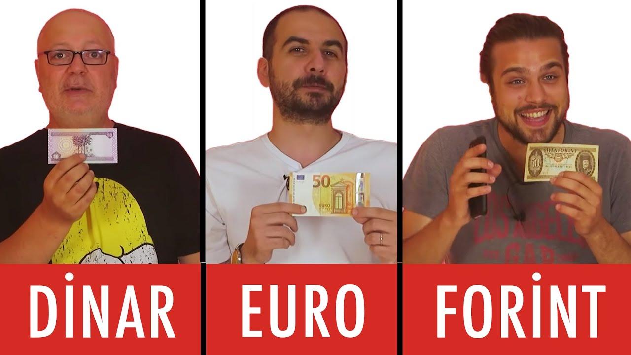 50 Dinar VS. 50 Euro VS. 50 Forint VS. 50 Dolar - En İyi Hediyeyi Kim Alacak?