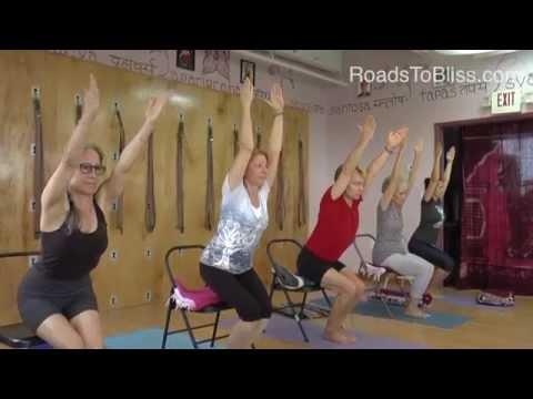 Iyengar Yoga Principles-3 with Carrie Owerko   Utkatasana